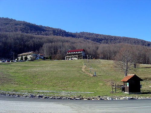 The area of the ski centre